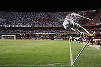SÃO PAULO,SP,10-11-2013 - CAMPEONATO BRASILEIRO - SÃO PAULO x PORTUGUESA - Aloisio jogador do São Paulo comemora gol  durante partida entre São Paulo X Portuguesa em jogo válido pela 32º rodada do campeonato brasileiro no estádio Cicero Pompeu de Toledo (Morumbi) na noite deste sabado.(Foto Ale Vianna - Brazil Photo Press).