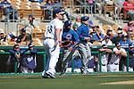 Diyan Viciedo  of Chicago Cubs ,during Cactus League ,Cubs vs Dodgers. Spring Trainig 2013..Camelback Ranch  in Arizona. February 25, 2013 ...© stringer/NortePhoto