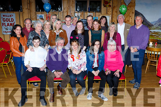 Sandy Stack, Ardraw, Beaufort celebrated her 50th birthday with her family and friends in Kate Kearneys bar on Friday night