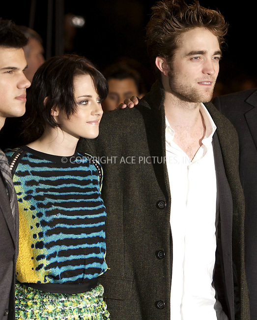 WWW.ACEPIXS.COM . . . . .  ..... . . . . US SALES ONLY . . . . .....November 11 2009, London....Actors Kristen Stewart and Robert Pattinson at The Twilight Saga: New Moon - UK Fan Event at Battersea Evolution on November 11, 2009 in London, England......Please byline: FAMOUS-ACE PICTURES... . . . .  ....Ace Pictures, Inc:  ..tel: (212) 243 8787 or (646) 769 0430..e-mail: info@acepixs.com..web: http://www.acepixs.com