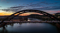 360 Pennybacker Bridge on Lake Austin, Texas (Pennybacker Bridge) Stock Photo Image Gallery
