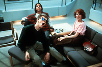 The Breakfast Club (1985) <br /> Anthony Michael Hall, Judd Nelson &amp; Molly Ringwald<br /> *Filmstill - Editorial Use Only*<br /> CAP/KFS<br /> Image supplied by Capital Pictures