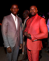 """LOS ANGELES - JULY 08: (L-R) Cast members Damson Idris and Amin Joseph attend the Red Carpet Event for FX's """"Snowfall"""" Season Three Premiere Screening at USC Bovard Auditorium on July 8, 2019 in Los Angeles, California. (Photo by Frank Micelotta/PictureGroup)"""