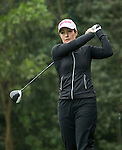 Rebecca Artis of Australia tees off the 14th hole during Round 2 of the World Ladies Championship 2016 on 11 March 2016 at Mission Hills Olazabal Golf Course in Dongguan, China. Photo by Lucas Schifres / Power Sport Images