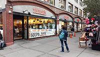 Zabar's  on the Upper West Side New York CIty 20 October 2018