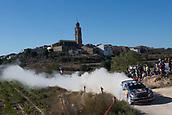 6th October 2017, Costa Daurada, Salou, Spain; FIA World Rally Championship, RallyRACC Catalunya, Spanish Rally; Sebastien Ogier - Julien Ingrassia of M-Sport WRT during the SS3 in Villalba dels Arcs