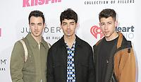 01 June 2019 - Carson, California - Jonas Brothers, Kevin Jonas, Joe Jonas, Nick Jonas.  2019 iHeartRadio Wango Tango held at The Dignity Health Sports Park.    <br /> CAP/ADM/PMA<br /> ©PMA/ADM/Capital Pictures