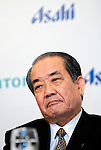 Hitoshi Ogita, president and COO of Asahi Breweries.