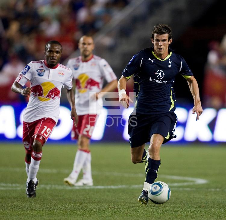 Gareth Bale, Dane Richards. Tottenham defeated the New York Red Bulls, 2-1.