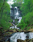 Amicalola Falls State Park, GA<br /> Amicalola Falls in early spring, Chattahoochee National Forest