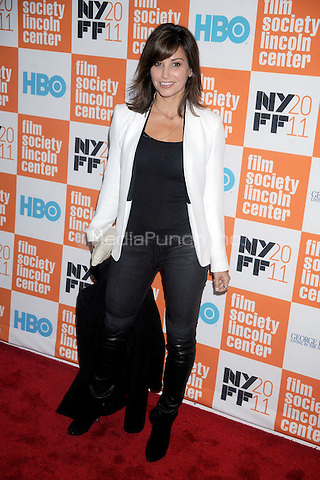 Gina Gershon at the HBO documentary screening of 'George Harrison: Living in the Material World' at Alice Tully Hall on October 4, 2011 in New York City. © mpi01 / MediaPunch Inc.