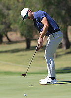 James Heath (ENG) in action on the 9th during Round 2 of the ISPS Handa World Super 6 Perth at Lake Karrinyup Country Club on the Friday 9th February 2018.<br /> Picture:  Thos Caffrey / www.golffile.ie<br /> <br /> All photo usage must carry mandatory copyright credit (&copy; Golffile   Thos Caffrey)