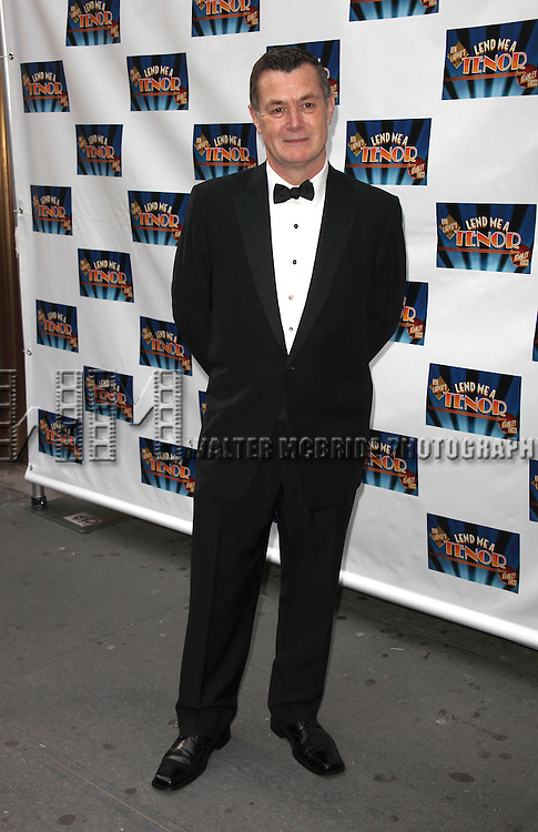 """Martin Pakledinaz attending the Broadway Opening Night Performance of """"Lend Me A Tenor""""  at the Music Box Theatre in New York City. April 4, 2010 © Walter McBride"""