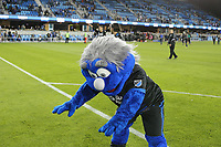 San Jose, CA - Saturday May 06, 2017: Mascot after a Major League Soccer (MLS) match between the San Jose Earthquakes and the Portland Timbers at Avaya Stadium.