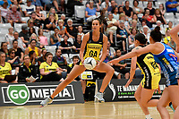 Pulse&rsquo; Ameliaranne Ekenasio in action during the Pre Season Tournament - Pulse v Mystics at Ngā  Purapura, Otaki, New Zealand on Saturday 9 February  2019. <br /> Photo by Masanori Udagawa. <br /> www.photowellington.photoshelter.com
