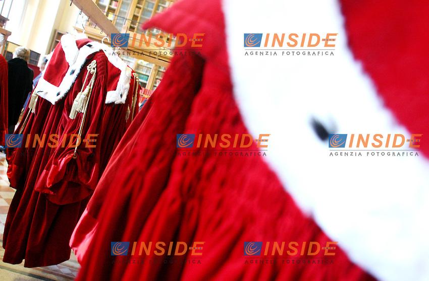 Roma, 27 gennaio 2006: Palazzo di Giustizia, Inaugurazione Anno Giudiziario 2006.<br /> <br /> Photo: Serena cremaschi Insidefoto
