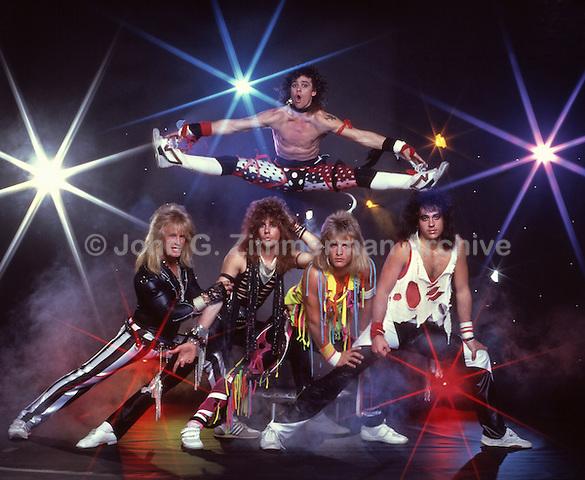 """""""Rocknee,"""" Heavy Metal Band, 1988, Los Angeles."""