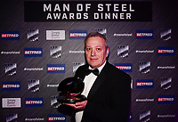 Picture by Simon Wilkinson/SWpix.com - 03/10/2017 - Rugby League BETFRED Super League Man of Steel Awards Dinner 2017 - The Steve Prescott MBE Man of Steel - Ian FULTON Chairman Castleford Tigers