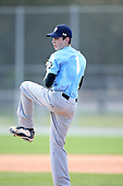 December 28, 2009:  Chris Elbrecht (1) of the Baseball Factory Tar Heels team during the Pirate City Baseball Camp & Tournament at Pirate City in Bradenton, Florida.  (Copyright Mike Janes Photography)