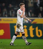 FUSSBALL   1. BUNDESLIGA   SAISON 2011/2012   23. SPIELTAG Borussia Moenchengladbach - Hamburger SV         24.02.2012 Marco Reus (Borussia Moenchengladbach) ist enttaeuscht