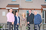 HOUSING OPEN DAY: the Tralee Town Council Affordable Housing Open Day at Sycamore Court in Ashleigh Downs on Saturday l-r: Declan Murphy (Tralee Town Council), Lorraine O'Sullivan (Tralee Town Council), Noreen Flanders (Bank of Ireland), Aidan Daly (EBS Building Society) and Paddy Garvey (Bank of Ireland)..