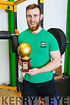 Robert Powel of Blennerville, who came second at the World Weightlifting Championship in Virginia, USA recently