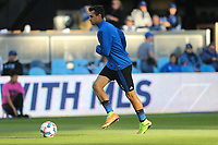 San Jose, CA - Wednesday May 17, 2017: Chris Wondolowski prior to a Major League Soccer (MLS) match between the San Jose Earthquakes and Orlando City SC at Avaya Stadium.