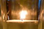 Candle, Kerze, Restaurant Johanniterhof, Feldkirch, Vorarlberg, Austria, Österreich