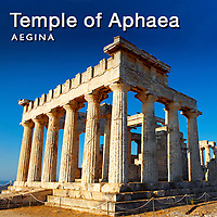 Pictures of Aegina Greek Temple of Apollo & Aphaia