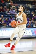 Washington, DC - December 22, 2018: Richmond Spiders guard Jacob Gilyard (0) goes for a layup during the DC Hoops Fest between High Point and Richmond at  Entertainment and Sports Arena in Washington, DC.   (Photo by Elliott Brown/Media Images International)