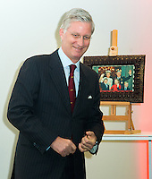 King Philippe of Belgium visits the 'Inspirience Center' of Puratos - Belgium
