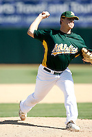 Andrew Bailey - Oakland Athletics - 2009 spring training.Photo by:  Bill Mitchell/Four Seam Images