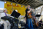 Morristown, NJ, hosted its annual Jazz & Blues Festival on Saturday, August 15. The daylong free event on Morristown's historic Green featured performances by Swingadelic, the legendary Bucky Pizzarelli and his Guitar Summit, Bria Skonberg, Roomful of Blues, and Blues Hall of Famer Charlie Musselwhite.