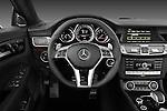Steering wheel photo of a 2013 Mercedes CLS Class AMG sedan