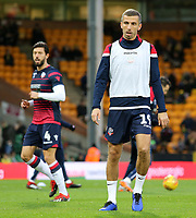Bolton Wanderers' Gary O'Neil during the pre-match warm-up <br /> <br /> Photographer David Shipman/CameraSport<br /> <br /> The EFL Sky Bet Championship - Norwich City v Bolton Wanderers - Saturday 8th December 2018 - Carrow Road - Norwich<br /> <br /> World Copyright &copy; 2018 CameraSport. All rights reserved. 43 Linden Ave. Countesthorpe. Leicester. England. LE8 5PG - Tel: +44 (0) 116 277 4147 - admin@camerasport.com - www.camerasport.com