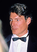 Actor Christopher Reeve arrives for the American Film Institute (AFI) Gala in Washington, DC on September 26, 1989.<br /> Credit: Ron Sachs / CNP
