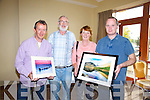 Terry McSweeny, Tom Bradley, Mary Bradley, Billy Dermody at the Kerry Landscapes Photography Exhibition in the Fels Point Hotel Tralee on Sunday