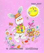 GIORDANO, EASTER, OSTERN, PASCUA, paintings+++++,USGI2347,#E# rabbits