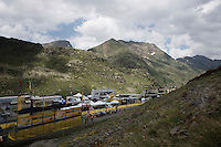 the mountain top finish of stage 9 in Andorra Arcalis (coming from Velha Val d'Aran/ESP, 184km) is waiting for some action<br /> <br /> 103rd Tour de France 2016