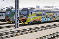 - Trenord, ferrovie regionali della Lombardia, deposito ed officine di Milano Fiorenza<br /> <br /> - Trenord, regional railways of Lombardy,depot and workshops of Milano Fiorenza