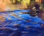 USA, Utah, Zion National Park, Virgin River Abstract