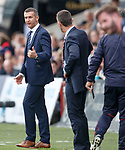 Jim McIntyre telling the Rangers management staff where to go
