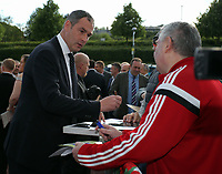 Pictured: Manager Paul Clement Wednesday 18 May 2017<br /> Re: Swansea City FC, Player of the Year Awards at the Liberty Stadium, Wales, UK.