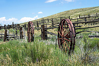 Irrigation Wheel Fence
