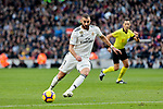 Real Madrid's Karim Benzema during La Liga match between FC Barcelona and Real Madrid at Camp Nou Stadium in Barcelona, Spain. October 28, 2018. (ALTERPHOTOS/A. Perez Meca)