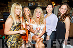 Megan Flynn from Ashleigh Downs, Rralee celebrating her 30th birthday in Sean Og's on Saturday.<br /> L to r: Kelly Taylor, Rachel MaryAnn Sale, Megan Flynn, Romano Scur and Grainne O'Sullivan.
