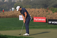 Adrien Saddier (FRA) in action on the 11th during Round 2 of the Hero Indian Open at the DLF Golf and Country Club on Friday 9th March 2018.<br /> Picture:  Thos Caffrey / www.golffile.ie<br /> <br /> All photo usage must carry mandatory copyright credit (&copy; Golffile | Thos Caffrey)