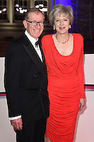 Prime Minister Theresa May &amp; husband Philip John May at The Sun Military Awards 2016 (The Millies) at The Guildhall, London. <br /> December 14, 2016<br /> Picture: Steve Vas/Featureflash/SilverHub 0208 004 5359/ 07711 972644 Editors@silverhubmedia.com