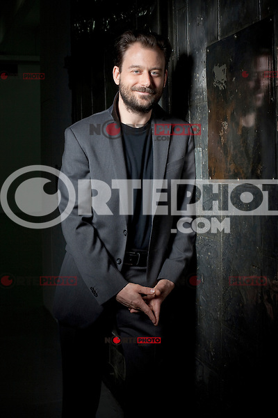 "April 23, 2012 : ""Once In A Lullaby"" director Jonathan Kalafer photographed during the 2012 Tribeca Film Festival in New York City. © Derek Reed/MediaPunch Inc. ***PREMIUM RATES ONLY***"