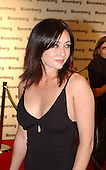 Shannon Doherty arrives at the Bloomberg party following the White House Correspondent's Dinner in Washington, D.C. on May 4, 2002..Credit: Ron Sachs / CNP